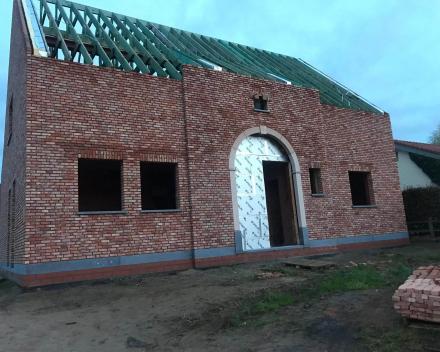 Metselwerken nieuwbouwwoningen regio Moorsele, Wevelgem, Menen, Kortrijk, Ledegem, Roeselare en Izegem.